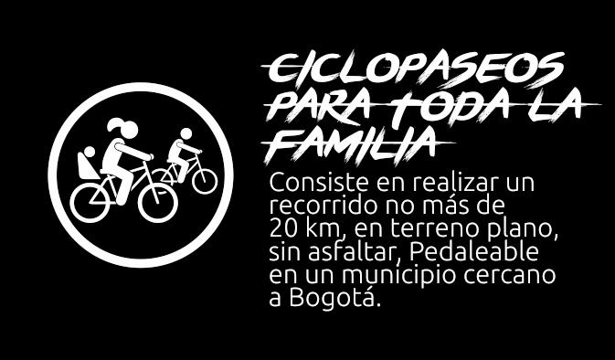Ciclopaseos para toda la familia
