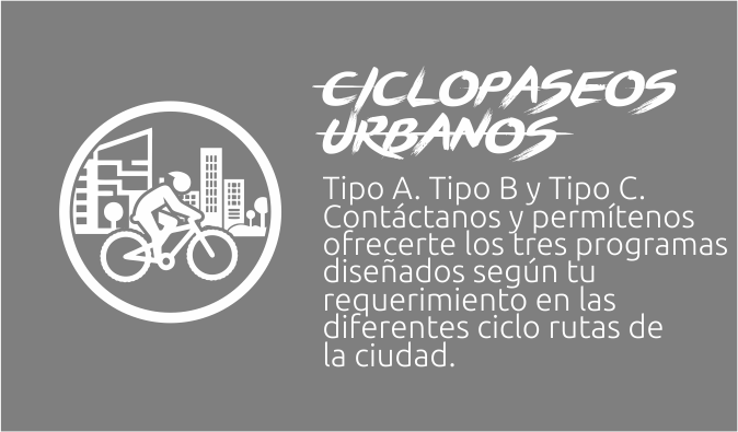 Ciclopaseos urbanos